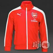 Puma Red Arsenal Training Track Suit 14900 | Clothing for sale in Lagos State, Lagos Mainland