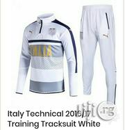 Brand New Italy Technical 2016/2017 Training Tracksuit White | Clothing for sale in Lagos State, Surulere