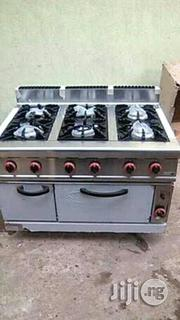 6 Burners Industrial Cooker | Restaurant & Catering Equipment for sale in Lagos State, Ojo