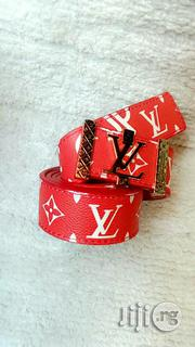 Supreme Louis Vuitton Belt Original | Clothing Accessories for sale in Lagos State, Ajah