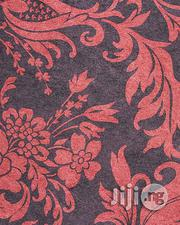 Quality European Wallpaper Black and Red Flowered -5.3sqm | Home Accessories for sale in Lagos State, Yaba