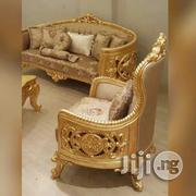 Golden Quality Italian Royal Living Room Sofa Chair by 7 | Furniture for sale in Lagos State, Lekki Phase 1