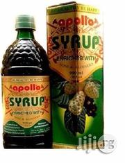 Apollo Syrup Herbal Natural Drink Or Noni Juice - 900ml | Vitamins & Supplements for sale in Lagos State, Alimosho