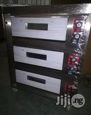 6 Trays 3 Deck Industrial Gas Oven | Industrial Ovens for sale in Edo State