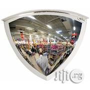 "26"" Diameter 90 Degree Acrylic Quarter Dome Mirror 