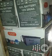 12volts 200ah Exclusive Gel Battery | Solar Energy for sale in Lagos State, Ojo
