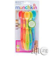 Munchkin Soft Tip Baby Spoon Set of 6pcs | Baby & Child Care for sale in Lagos State, Ikeja