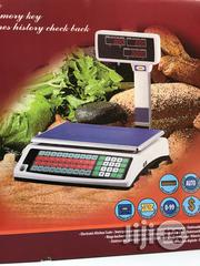 Digital Scale With Printer | Store Equipment for sale in Lagos State, Ojo
