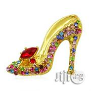 Multi-Colors Fashion Women Crystal Rhinestones High Heel Shoes Brooch | Jewelry for sale in Lagos State, Surulere
