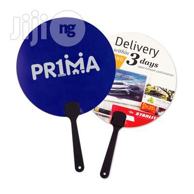 Plastic Promotional & Personalized Hand Fans