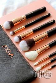 Zoeva 8pcs Proffesional Brush Set With a Make-Up Leather Bag | Makeup for sale in Lagos State, Lagos Mainland