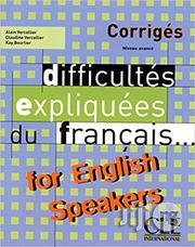 Difficultes Expliquees Du Francais For English Speakers | Books & Games for sale in Kwara State, Ilorin West
