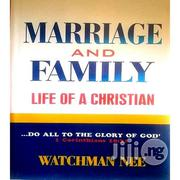 Marriage and Family Life of a Christian | Books & Games for sale in Kwara State, Ilorin West