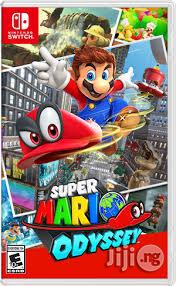Super Mario Odyssey Nintendo Switch | Video Game Consoles for sale in Lagos State, Ikeja