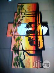 Elephants in Sunset Paintings   Arts & Crafts for sale in Lagos State, Victoria Island