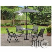 Umbrella Table With Four Chairs | Garden for sale in Oyo State, Ibadan