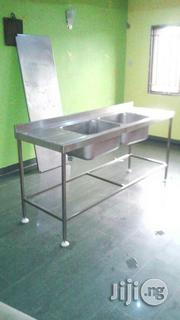 Double Sink With Bench   Restaurant & Catering Equipment for sale in Lagos State, Ojo