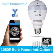 360° Panoramic Hidden Fish Eye Camera LED Light Bulb 1080P HD | Security & Surveillance for sale in Lagos State, Lagos Mainland