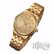 Wrist Watch for Men Gold Stainless Steel | Watches for sale in Rivers State, Port-Harcourt