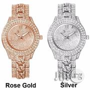 Wrist Watch Studded Female Watch On Silver Watch, Rose Gold Watch | Watches for sale in Lagos State