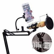 Remax Mobile Recording Studio With Phone Holder And Pop Filter | Accessories & Supplies for Electronics for sale in Lagos State, Lagos Mainland