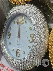 Silver Wall Clock | Home Accessories for sale in Lagos State, Lagos Island