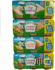 Heinz Puddings, Rice,Egg Custard, Creamed Porridge | Baby & Child Care for sale in Lagos State