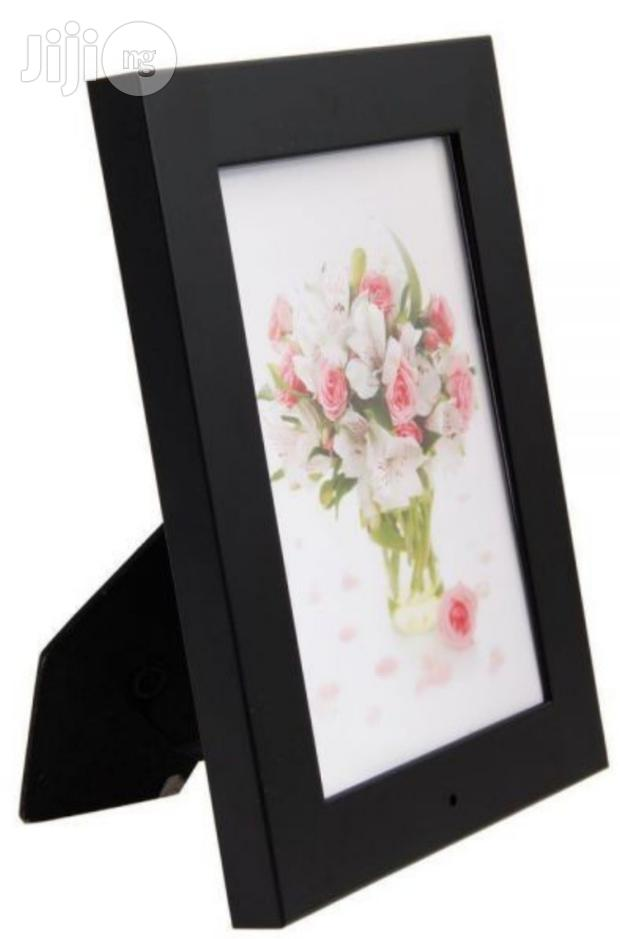 Photo Frame With Spy Camera And Motion Detection-support 32GB