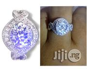Regal Silver Engagement Ring Set | Wedding Wear for sale in Lagos State, Lagos Mainland