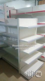 Metal Pharmacy & Cosmetic Store Shelves Glass/Metal Trays | Furniture for sale in Lagos State, Lagos Mainland