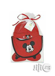 Mickey Mouse Hat,Bib Booties Set | Children's Shoes for sale in Lagos State, Ikeja