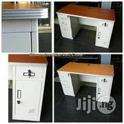 Metal Office Table With Drawers Cupboard   Furniture for sale in Lagos State, Lekki Phase 1