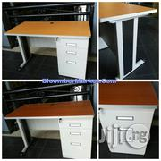 Secretary Metal Office Table With Keyboard Drawer | Furniture for sale in Lagos State, Lekki Phase 1