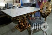 Golden Baze Marble Dinning | Furniture for sale in Abuja (FCT) State, Wuse