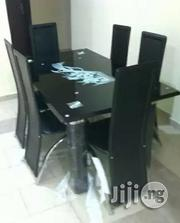 Flashy 6-sitter Glass Dining Table | Furniture for sale in Rivers State, Port-Harcourt
