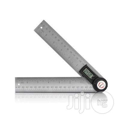 Digital Angle Finder 7-Inch Protractor (200mm Stainless Steel