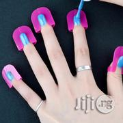 26pcs/Set 10 Sizes Spill-Proof Finger Cover for Nail Polish (Reusable)   Makeup for sale in Lagos State, Lagos Mainland