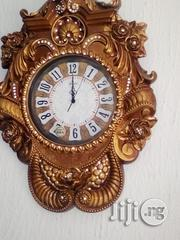 Superb Wooden Wall Clock | Home Accessories for sale in Lagos State, Ojo