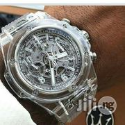 Hublot Transparent Wristwatch | Watches for sale in Lagos State, Surulere