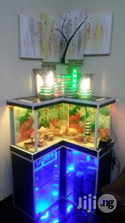 Aquarium With Wine Closet Brand New Functional | Fish for sale in Lagos State, Ojo