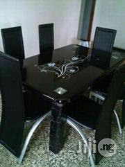 Durable Dining Table With Six Durable Leather Chairs Chairs   Furniture for sale in Lagos State, Surulere