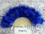 Bridal Feather Hand Fan | Wedding Wear for sale in Rivers State, Port-Harcourt