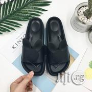 Teddy Bow Jelly Slides -Black | Shoes for sale in Lagos State, Ojodu