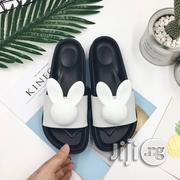 Teddy Bow Jelly Slides -White | Shoes for sale in Lagos State, Ojodu