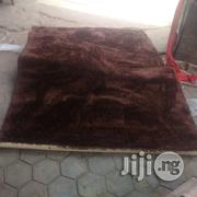 Plain Chocolate Brown Shaggy Centre Rug   Home Accessories for sale in Lagos State, Lagos Island