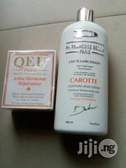 Pr Francoise Bedon Paris Lotion With Qei Carrot Soap | Bath & Body for sale in Lagos State, Lagos Mainland