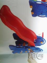 Single Kiddies Slide With Basketball Net For Sale | Toys for sale in Lagos State, Ikeja