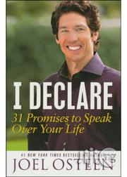 I Declare: 31 Promises to Speak Over Your Life By:Joel Osteen | Books & Games for sale in Lagos State