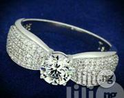 Zirconia Engagment Ring | Jewelry for sale in Lagos State, Ojo