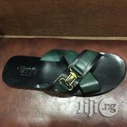 Men's Vanni Italian Leather Sandals Slippers Size EU 43   Shoes for sale in Lagos State, Surulere